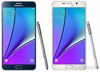 Samsung Galaxy Note 5 ATT GSM Unlocked SM-N920A Smartphone 32GB 64GB White Black