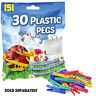 151 Jumbo Clothes Pegs Washing Line Dryer pegs plastic SmartAlec Strong Spring