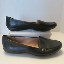 Easy Spirit e360 Jeyden Leather Slip On Loafer Black 9.5 M ~ new without box