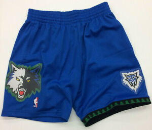 Minnesota Timberwolves Mitchell & Ness NBA Authentic Swingman Men's Mesh Shorts