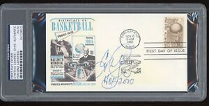 Cynthia Cooper-Dyke Signed 1961 Basketball HOF FDC First Day Cover PSA/DNA WNBA