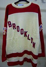 Brooklyn Americans Throwback Hockey Sweater 1941 - Stall & Dean - 2XL