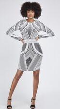 bnwt Size 10 Bodycon Long Sleeved Dress