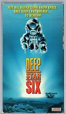 Deep Star Six (Vhs) 'a mission to establish a navy base on the ocean floor'