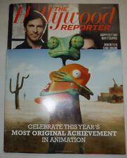 Hollywood Reporter OS Magazine Zhang Yimou Christian Bale December 2011 060415R