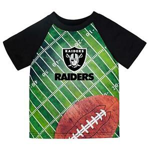 NFL Las Vegas Raiders T-Shirt Field Design Gerber Youth Select Size