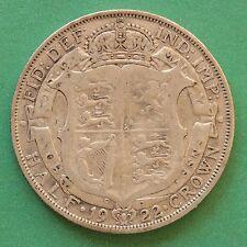 1922 George V Silver Half Crown SNo33325