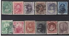 Hawaii 12 different with 10, 12, 15 and 25 cent