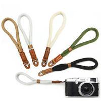 Cotton Wrist Strap Belt for Mirrorless Digital Camera Leica Canon Nikon Sony