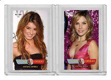 Sophia Bush rare MH Calibre Grueso #'d 1/3 Tobacco card no. 711