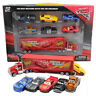 Disney Pixar Car Master No.95 Mack Truck Lightning McQueen Toy Car Set Xmas Gift