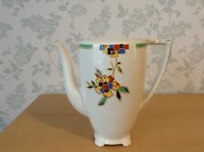"""J & G Meakin """"Sol"""" 391413  Art Deco Footed Coffee Pot. 783998 on base. (No Lid)"""