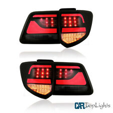 Full LED Smoked Tail Lights For TOYOTA Fortuner 2012-2015 Rear Lamps L+R