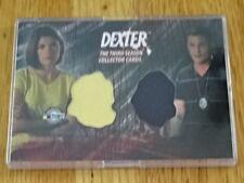 DEXTER PIECEWORKS CARD! DEB MORGAN & JOEY QUINN! COSTUME CARD BREYGENT D3-C27