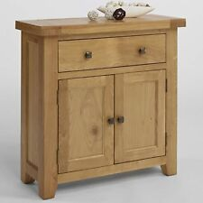 Balmoral Oak Living Dining Room Furniture Small Sideboard with Doors and Drawer