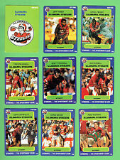 1990  ILLAWARRA STEELERS  STIMOROL RUGBY LEAGUE CARDS