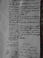 ANTICHI STATI REGNO DUE SICILIE CONTRABBANDO di GRANO ANTICO MANOSCRITTO 1800