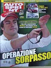 Autosprint 40 2010 Fernando Alonso operazione sorpasso   [SC.49]