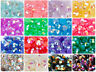 Lot Crystal Flat Back Iridescent Nail Art Face Festival Rhinestones Gems AB 3mm