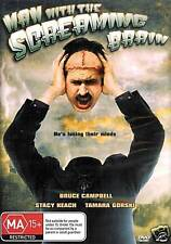 The Man With The Screaming Brain DVD Bruce Campbell New R4
