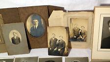 Antique-Vintage MENNONITE Portraits - Sepia and B&W - LOT OF 27 Original Photos