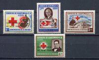 "37307) GUATEMALA 1964 MNH** Red Cross ovptd ""Fiera NY ..."""