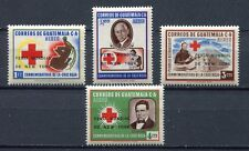 "37307) GUATEMALA 1964 MNH** Red Cross ovptd ""Fiera NY ..."""