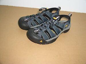 Mens Keen Newport H2  Active Sport Sandals,Sz 9.5,Blue,Waterproof,Ex Cond