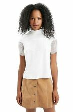 Topshop Lace Semi Fitted Other Tops & Shirts for Women