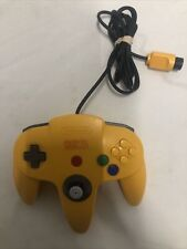 Donkey Kong 64 DK64 N64 Nintendo Power Yellow Banana Controller TESTED AUTHENTIC
