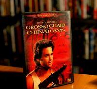 Grosso guaio a Chinatown (1986) DVD COME NUOVO JOHN CARPENTER KURT RUSSELL CULT