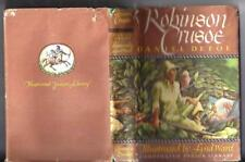 1946 Robinson Crusoe Illustrated by Lynd Ward with Dust Jacket