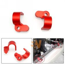 2PCS CNC Rear Brake Line Cable Hose Clamp Holder For Honda CRF250L CRF250M 12-15