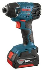 """Bosch 25618-01 18V Lithium-Ion ¼"""" Hex Impact Driver"""