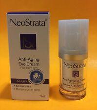 NeoStrata Anti-Aging Eye Cream (Fruit Stem Cells) 15 ml / 0.5 oz NEW