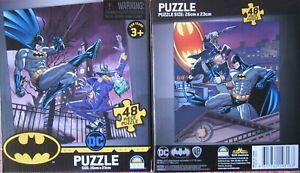 2 x DC Batman, Joker & Penguin 48 piece puzzle