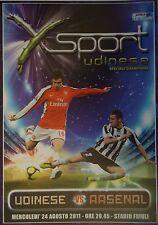 Programm Sport UEFA CL 2011/12 Udinese Calcio - Arsenal FC