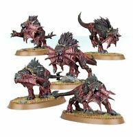 New On Sprue: Games Workshop Age Of Sigmar: Wrath And Rapture 5 x Flesh Hounds