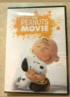 Charlie Brown The Peanuts Movie DVD NEW SEALED