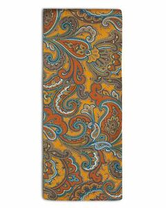 Men's Silk Paisley Scarf - The Carnaby