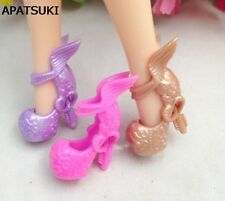 3pairs/lot Wing Shoes High Heel Shoes Monster High Dolls Shoes Draculaura Boots