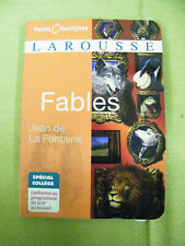 Larousse Fables, Jean de La Fontaine, Petits Classiques