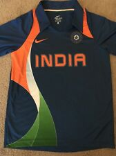 Adult Nike Dri Fit Sahara India Cricket Polo Jersey XS, Perfect!