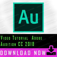 Video Tutorial Adobe Audition CC 2018