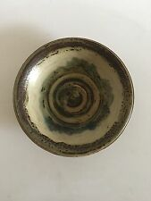 Royal Copenhagen Stoneware Bowl Unique Carl Halier
