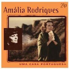 AMALIA RODRIGUES - UMA CASA PORTUGUESA  2 VINYL LP  28 TRACKS LATIN FOLK  NEW
