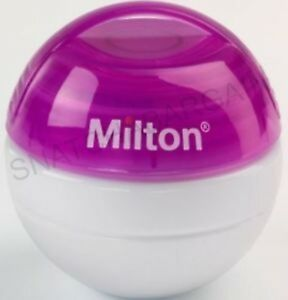 PINK MILTON MINI PORTABLE SOOTHER STERILISER