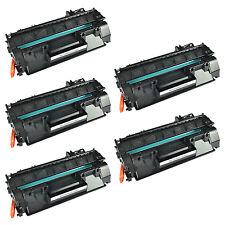 5PK CE505A Toner For HP LaserJet P2035 P2035n P2050 P2055 P2055d P2055dn P2055x