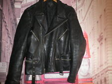 3/4 CUERO ROCKER MOTO PIEL VINTAGE CHAQUETA MOTORISTA LEATHER JACKET RIDERS-  58