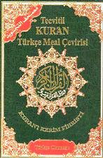 TURKISH: Tajweed Quran Arabic with Turkish Translation and Transliteration-HB